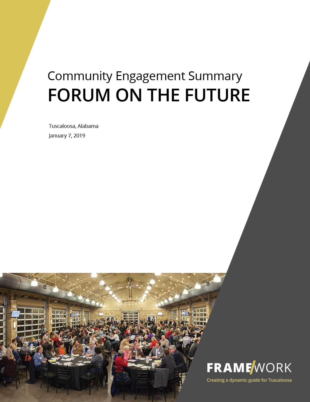 Forum on the Future Summary Report